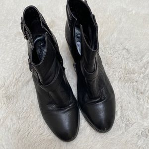 Marc Fisher - Black Ankle Boots